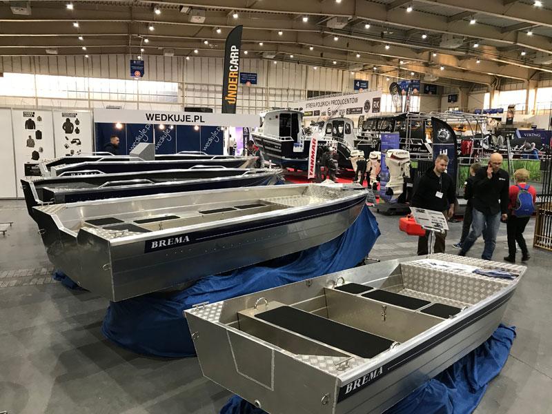 łodzie aluminiowe powystawowe