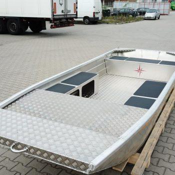 łodzie aluminiowe płaskodenne
