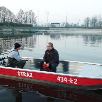 łodzie płaskodenne strażackie