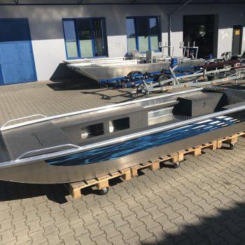 płaskodenna łódź