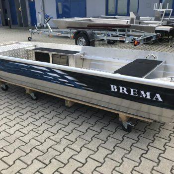 łódź z płaskim dnem