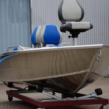 łódź z aluminium