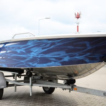 łodzie z aluminium
