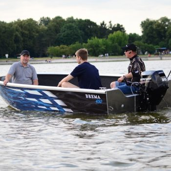 łódź aluminiowa bremaboats