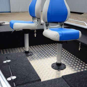 krzesła łodzi wędkarskich