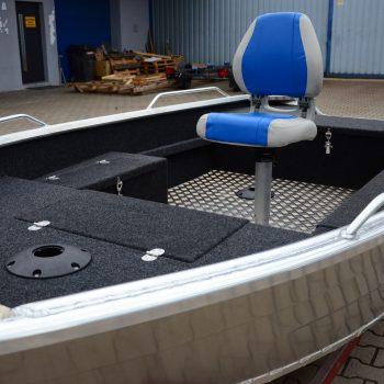 krzesłó łodzi aluminiowej
