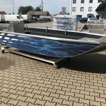łódź dla straży pożarnej płaskodenna