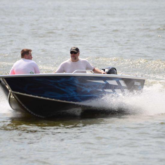 łodzie wedkarskie aluminiowe brema