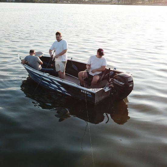 wędkarska łódź aluminiowa brema boats