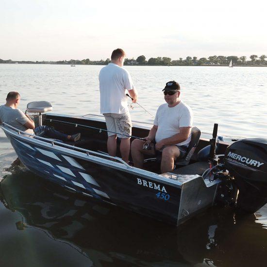 łodzie rekreacyjne aluminiowe