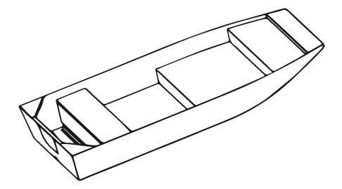 wersja łodzi płaskodennych