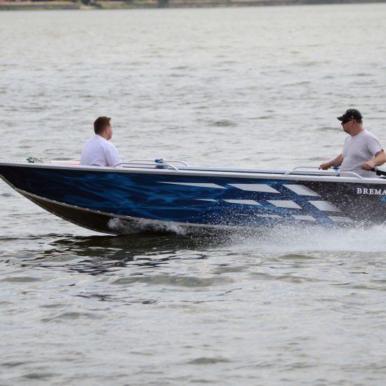 łódź wędkarska aluminiowa Brema Boats