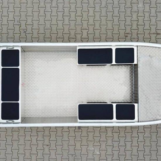 łodzie płaskodenne wędkarskie